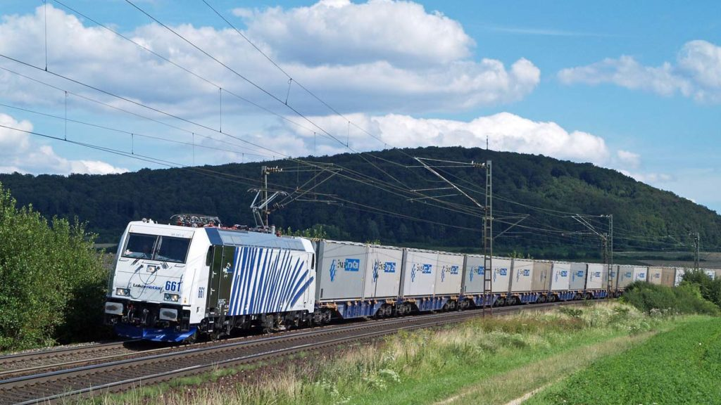 The 740 metre train rail network. One standard-length, 740 metre freight train replaces 52 HGVs on the roads. Politicians of all parties recognise the advantages, but bottlenecks on the network mean trains are limited to shorter lengths.