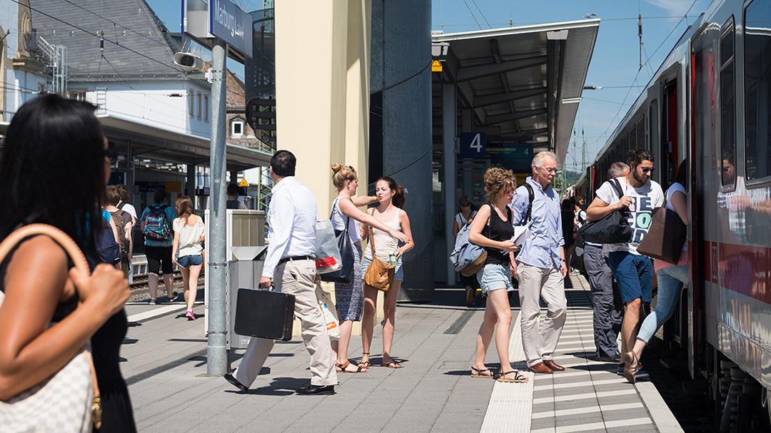 Personenverkehr Marburg Allianz pro Schiene