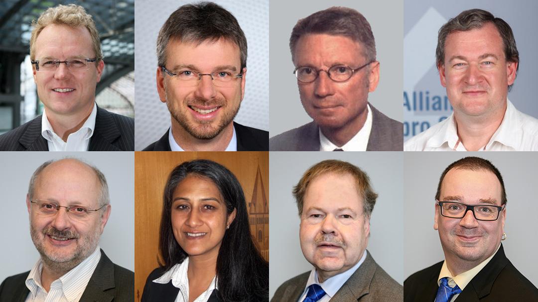 Die Jury Eisenbahner mit Herz Allianz pro Schiene