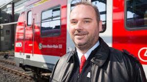 Eisenbahner mit Herz 2015, Bronzemedaille für Axel Schäfer