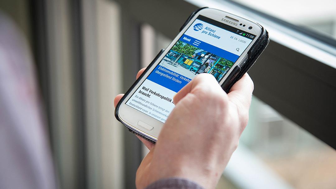 Aktuell Nachrichten Allianz pro Schiene Teaserbild