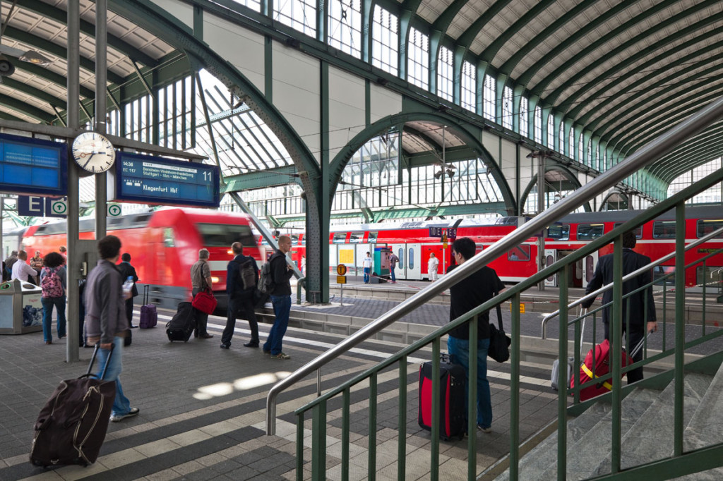 Bahnsteiggleise