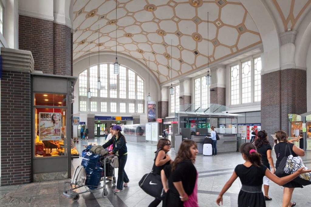 Bahnhofshalle Darmstadt