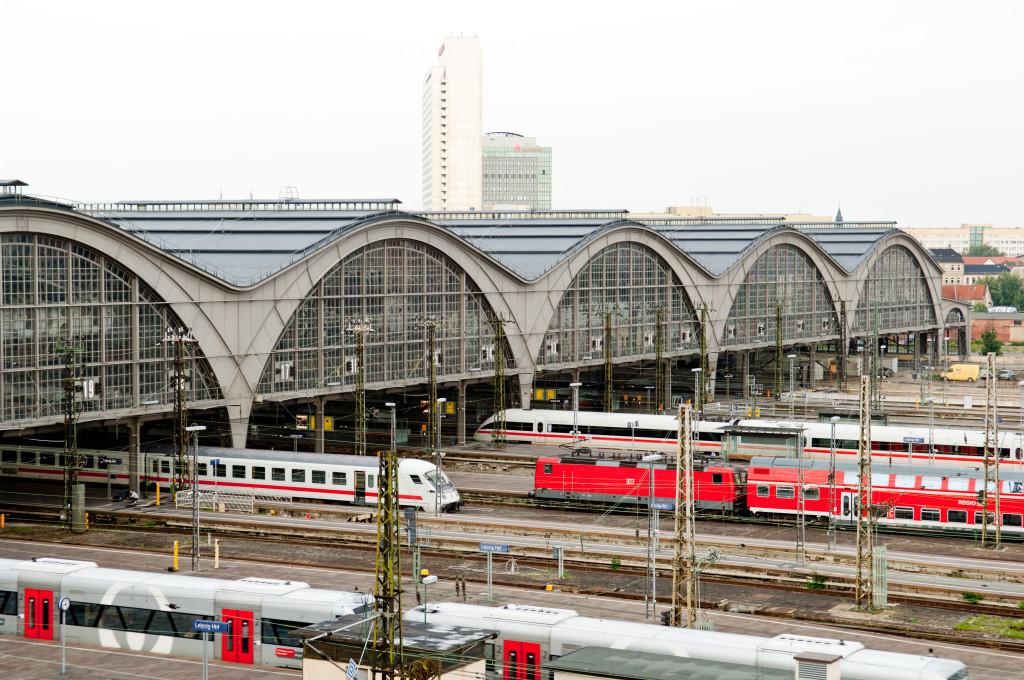 Gleisfeld Hauptbahnhof Leipzig