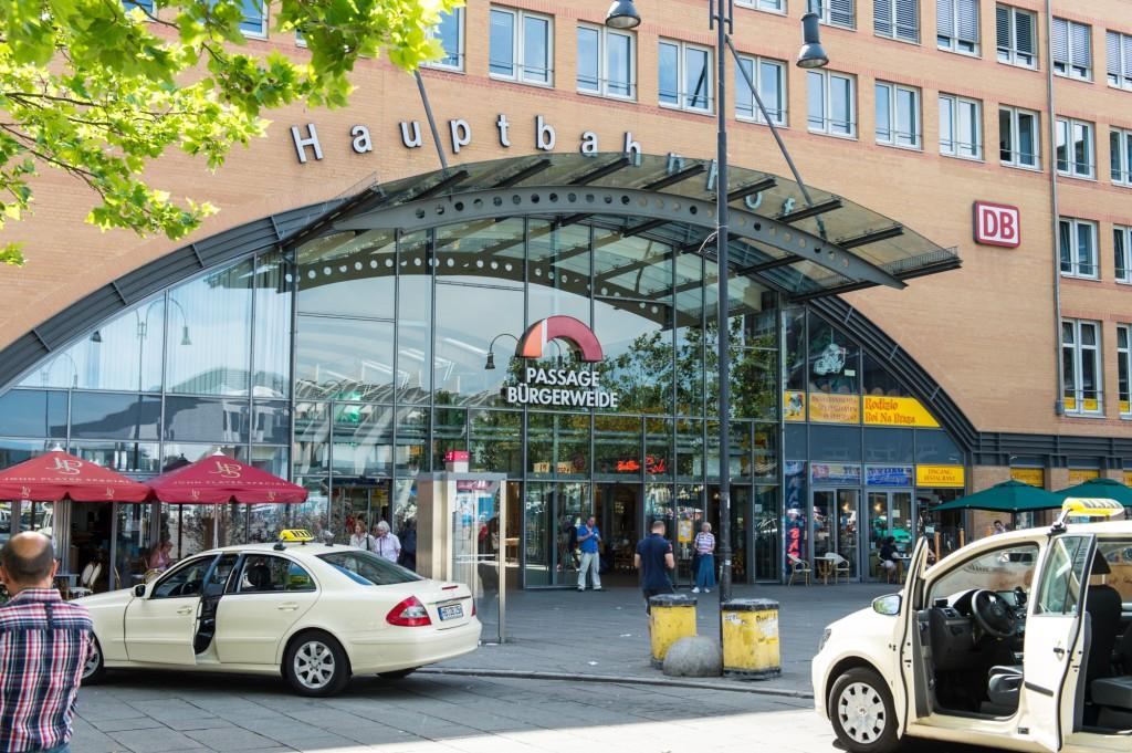 Eingang Hauptbahnhof Bremen