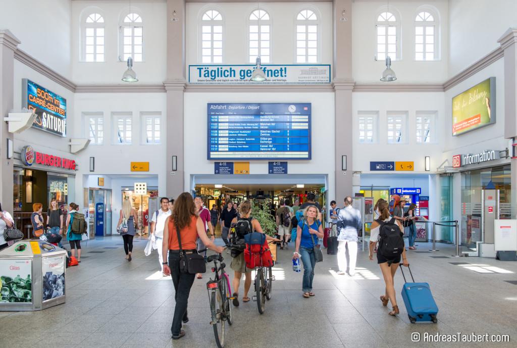 Bahnhofshalle Bahnhof Göttingen