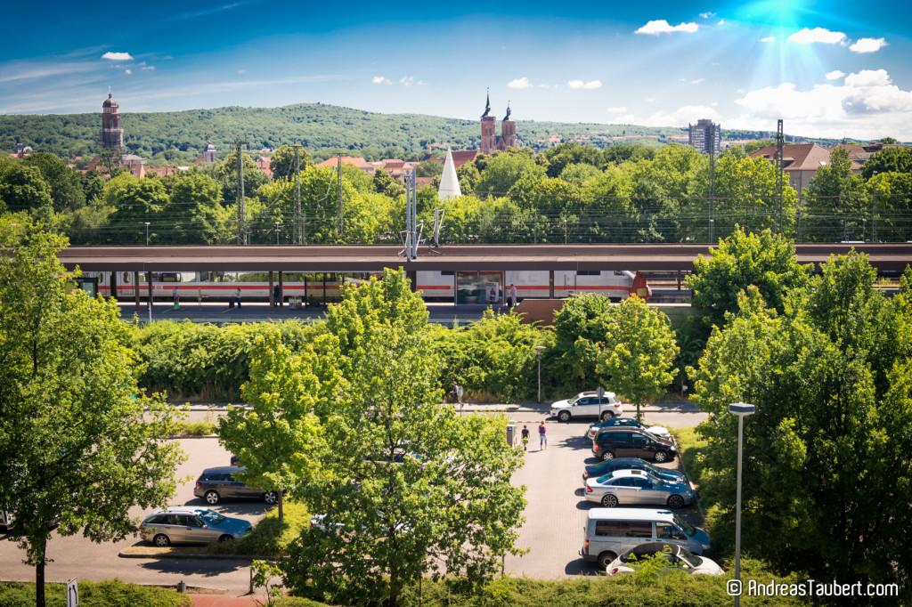 Bahnhofsgleise in Göttingen