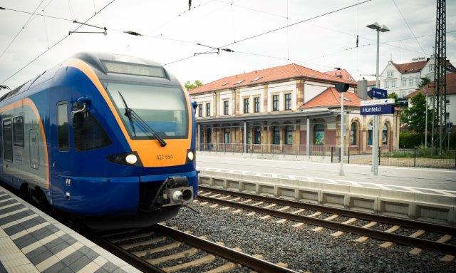 Cantus auf dem Zug