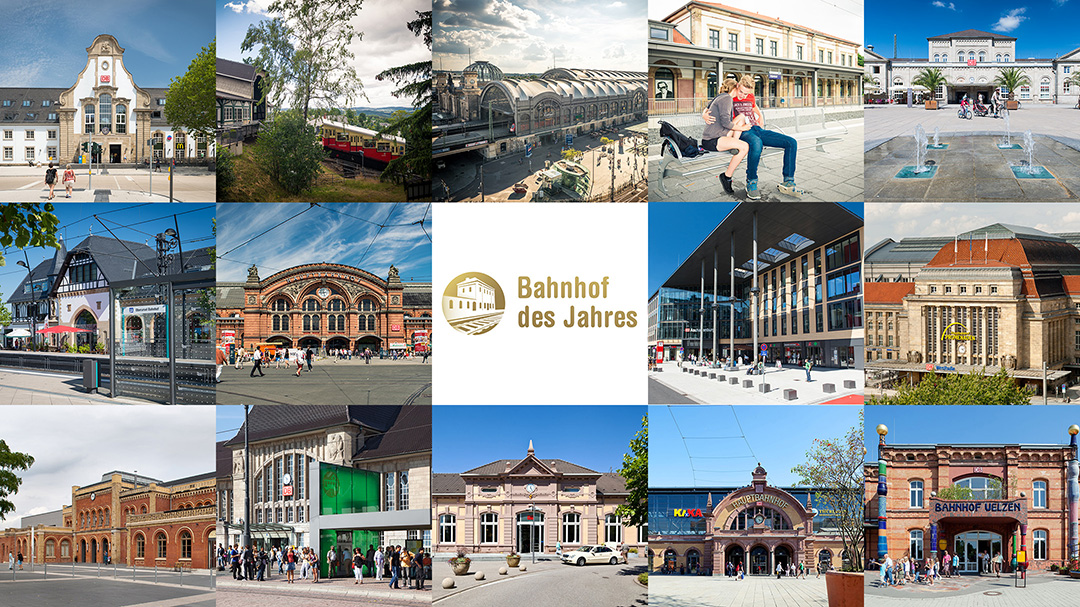 Bahnhof des Jahres Alle Siegerbahnhöfe