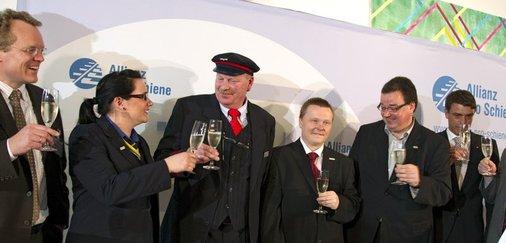 Gruppenfoto: Eisenbahner mit Herz 2011