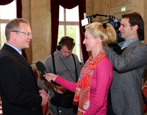 Bahn TV im Interview mit Dirk Flege.