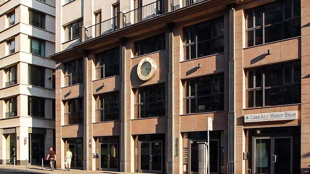 Gebäude der Geschäftsstelle in der Reinhardtstrasse
