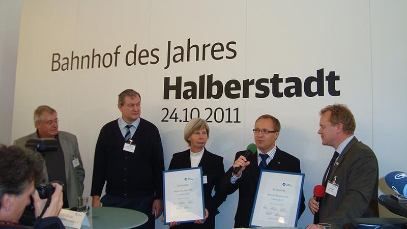 Auszeichnung des Oberbürgermeister A. Henke