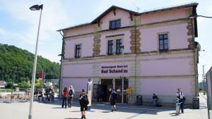 Deutschlands erster Nationalparkbahnhof, der Bahnhof Bad Schandau
