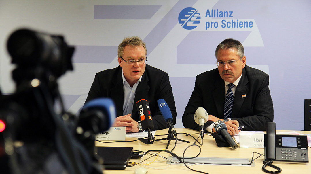 Termine Presse Allianz pro Schiene