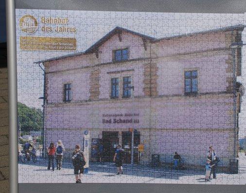Puzzle Bahnhof Bad Schandau