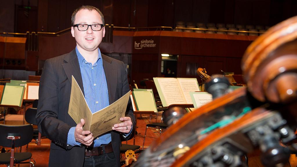 Armin Wunsch (Manager des hr-Sinfonieorchesters)