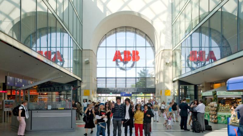 Mannheim Bahnhofshalle