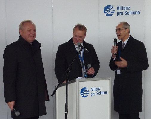 André Zeug, Chef von DB Station&Service kommt zu Wort
