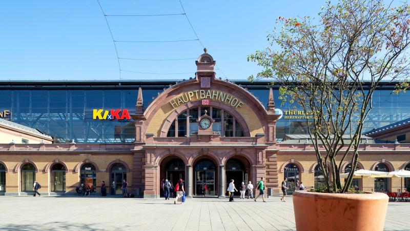 Bahnhof Erfurt