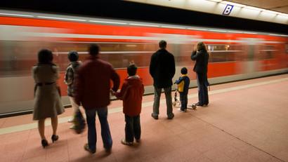 Der Marktanteil / Modal Split von U-Bahn und S-Bahn am Personenverkehr steigt