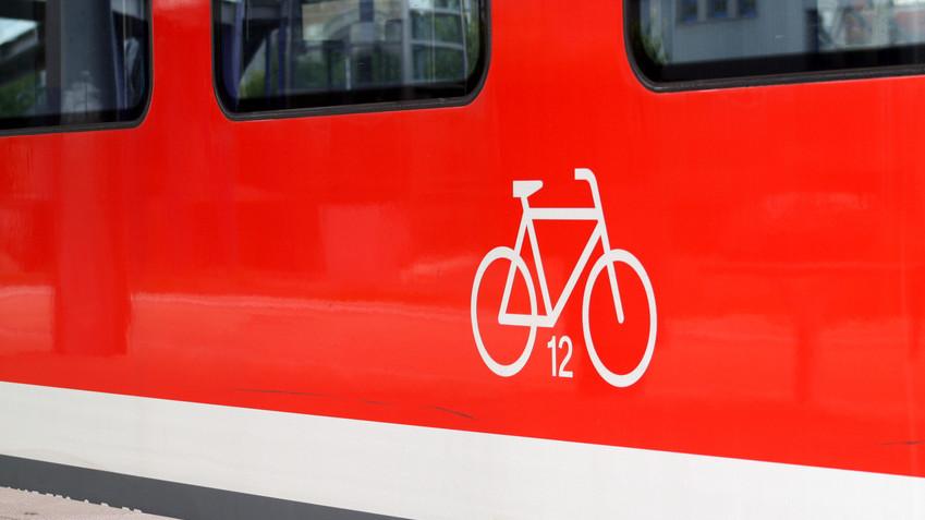 Fahrrad und Bahn