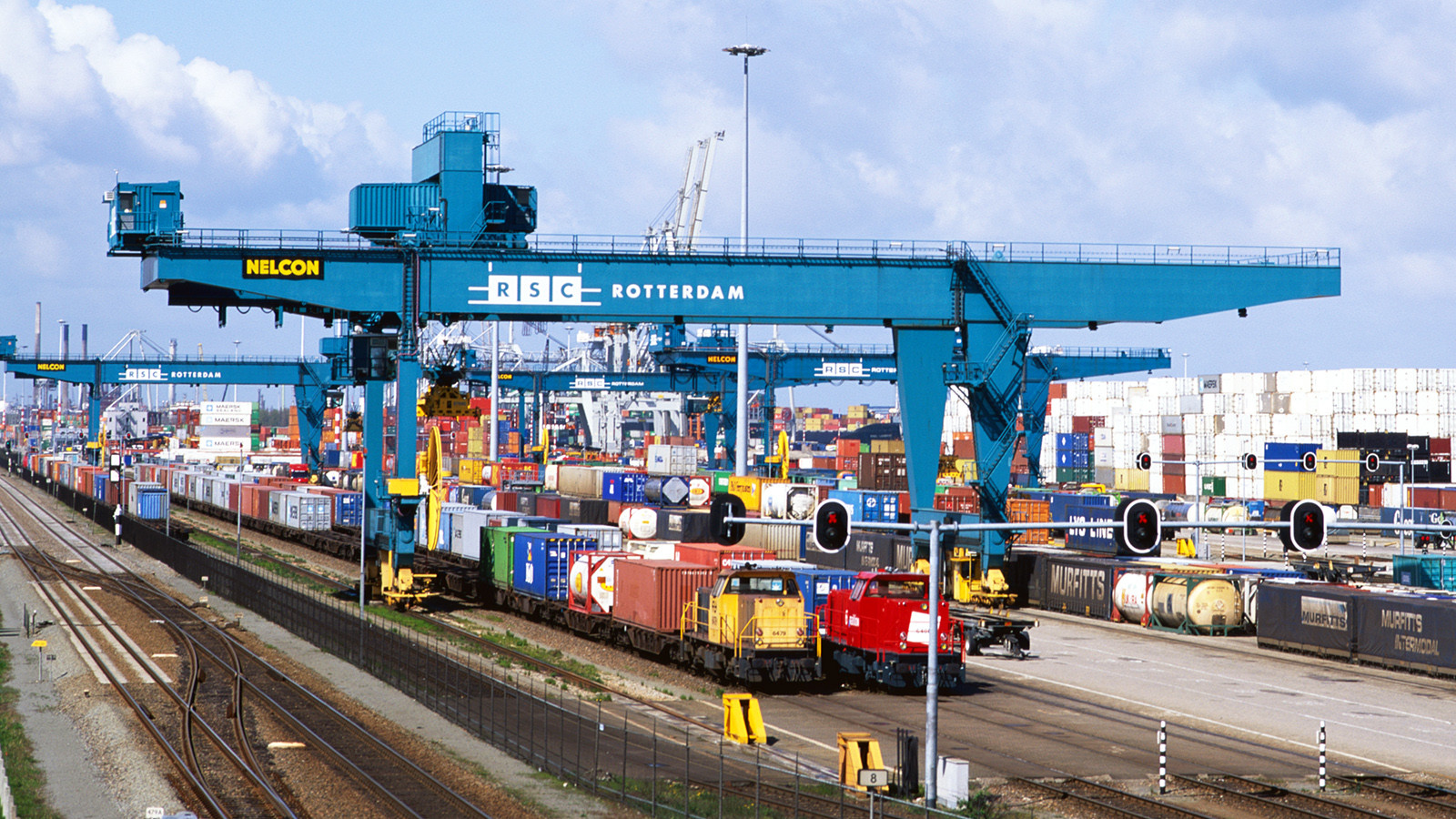 Klimaschutz durch Verlagerung auf Güterbahnen