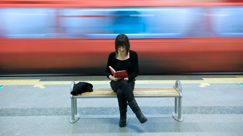 Vielfahrer: Die Deutschen fahren im Europa-Vergleich sehr häufg Bahn