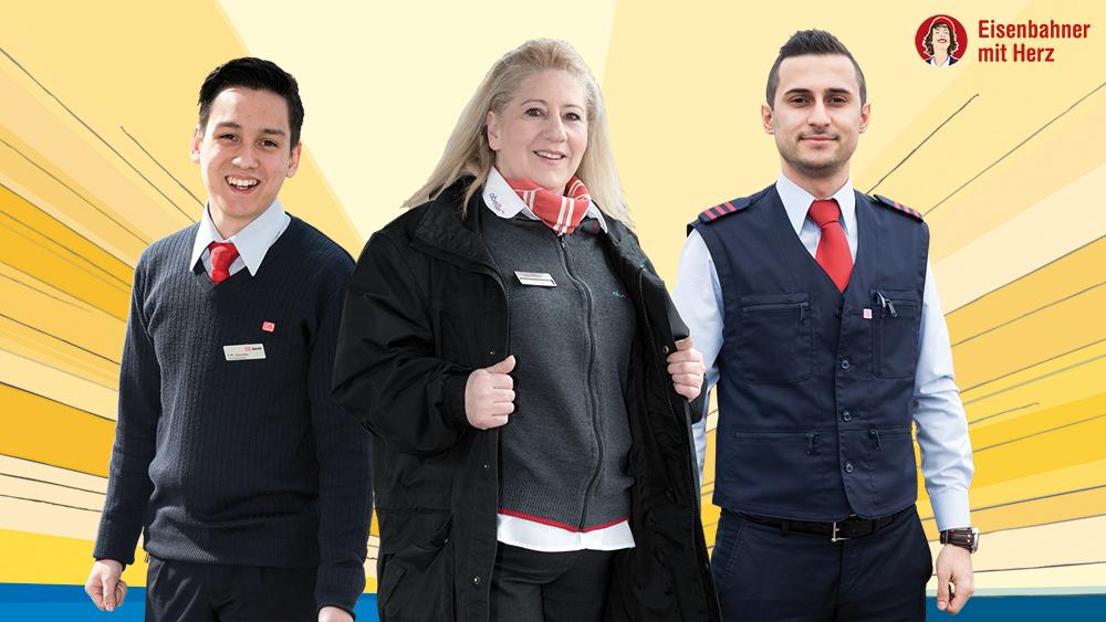 Eisenbahner mit Herz 2016 - Drei Meister für Kunden in Not