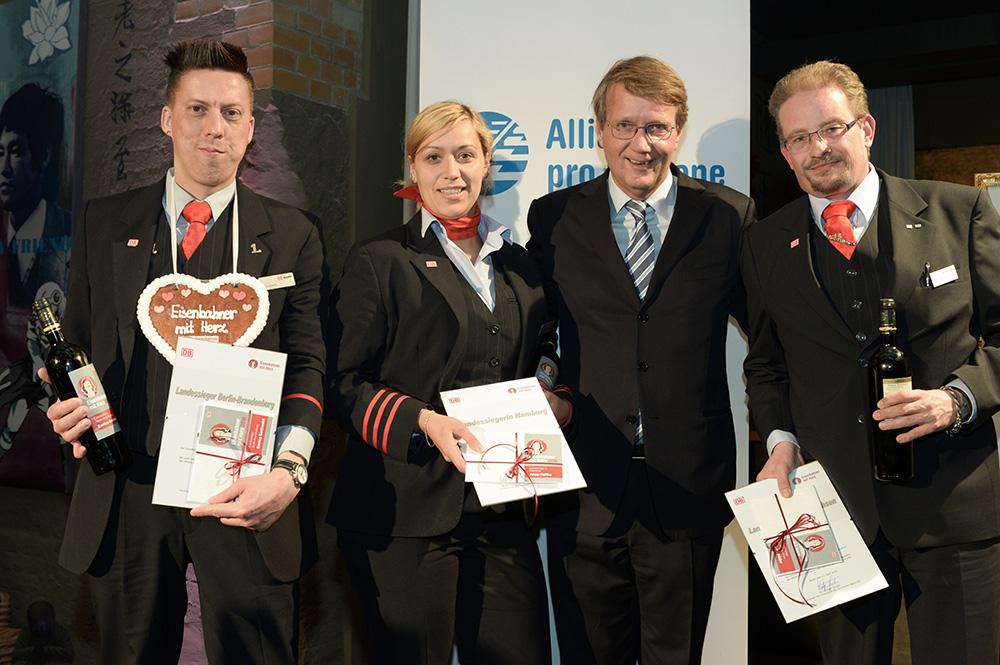 Eisenbahner mit Herz 2016 - Sieger-Gala - DB-Landessieger