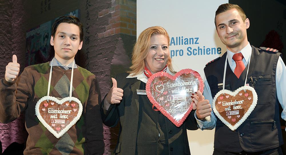 Eisenbahner mit Herz 2016 - Sieger-Gala - Die Sieger