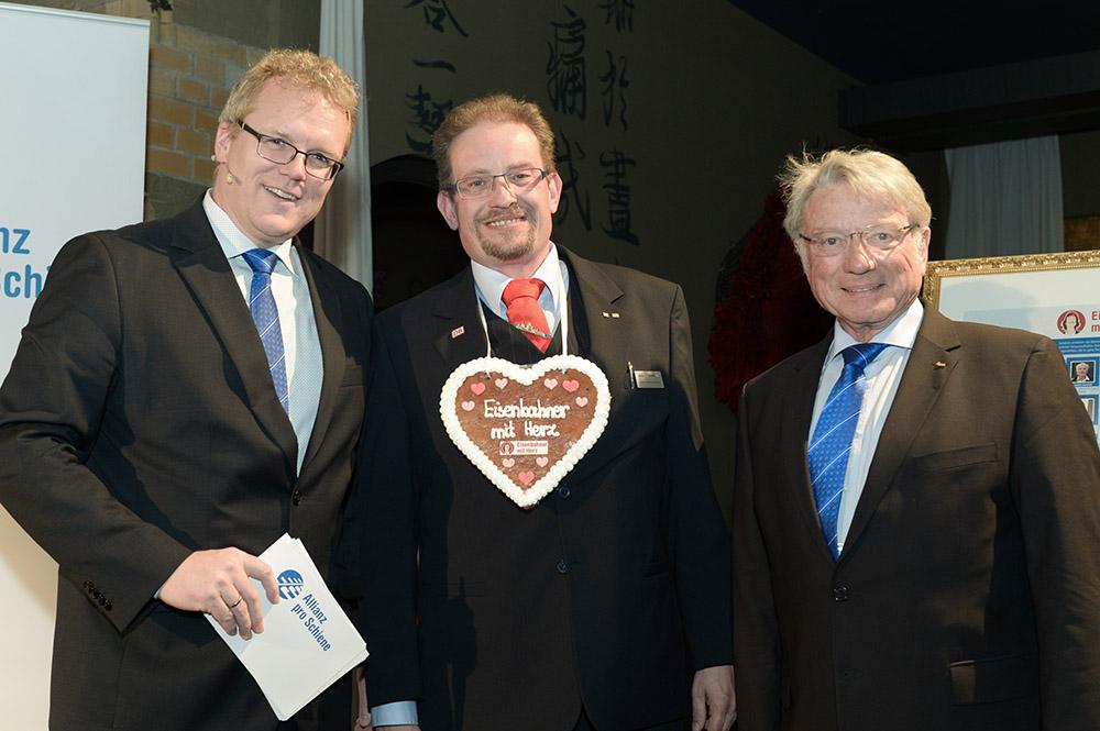 Eisenbahner mit Herz 2016 - Sieger-Gala - Gero Müller Landessieger Niedersachsen
