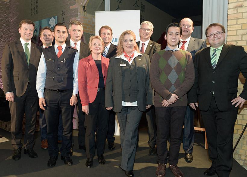 Eisenbahner mit Herz 2016 - Sieger-Gala - Hauptgewinner mit Chefs