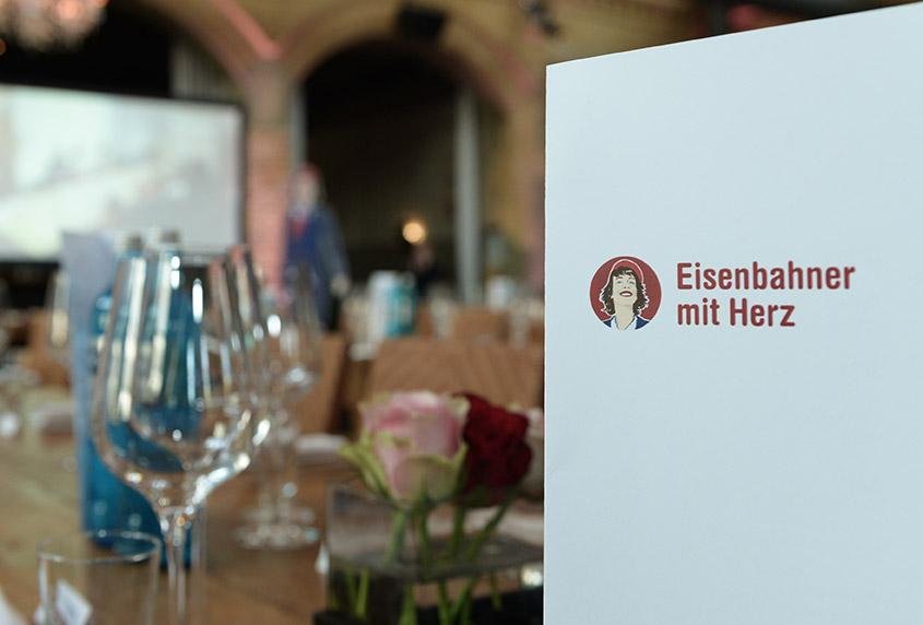Eisenbahner mit Herz 2016 - Sieger-Gala - Menü