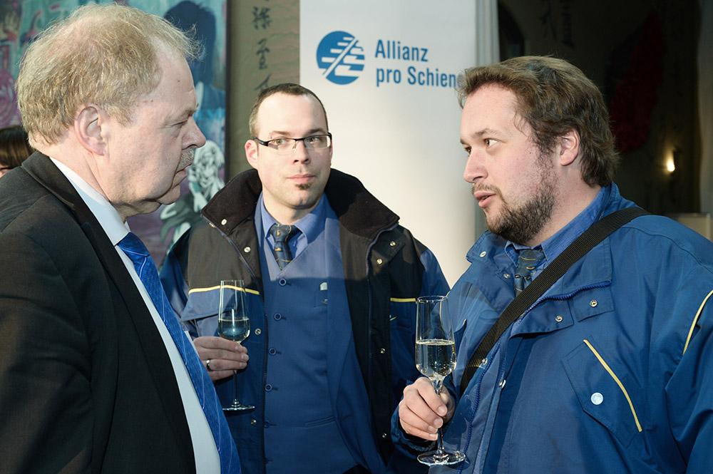 Eisenbahner mit Herz 2016 - Sieger-Gala - Naumann, Christoffel, Hinz