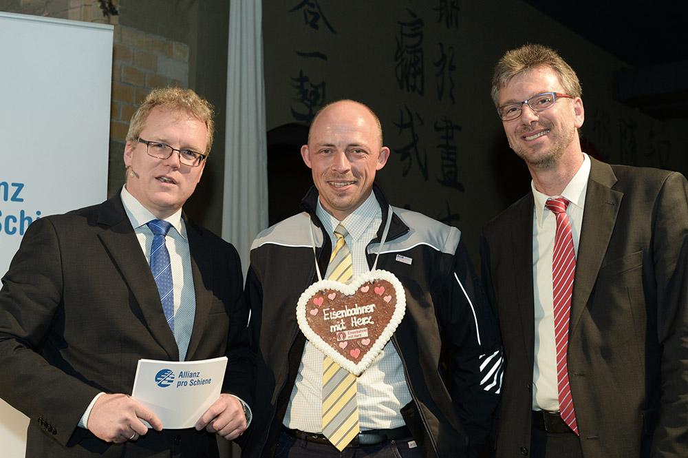 Eisenbahner mit Herz 2016 - Sieger-Gala - Schmidt BOB Landessieger Bayern