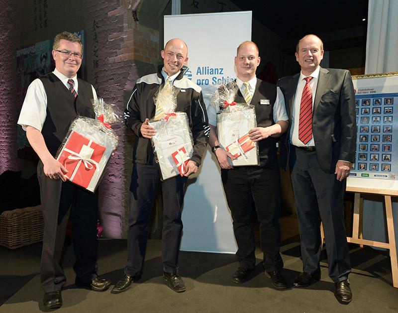 Eisenbahner mit Herz 2016 - Sieger-Gala - Transdev-Gewinner