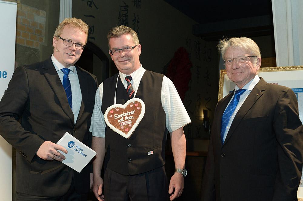 Eisenbahner mit Herz 2016 - Sieger-Gala - Werner van de Loo Landessieger NRW