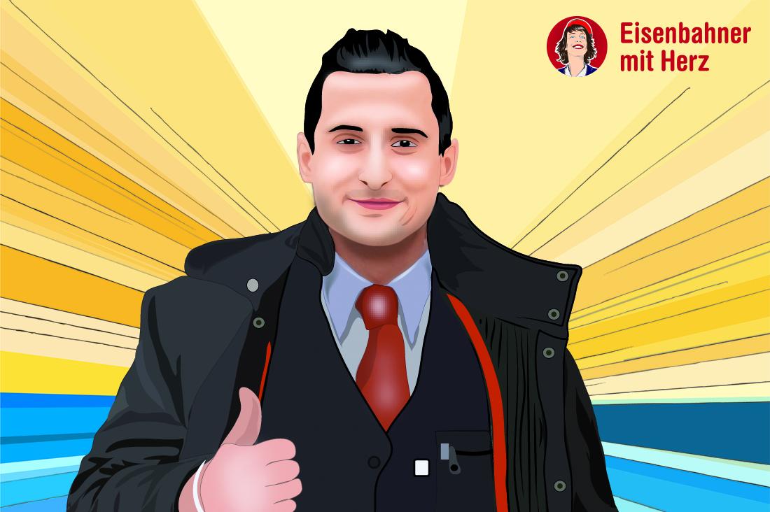 Fatih Yilmazli - Silber - Eisenbahner mit Herz 2016