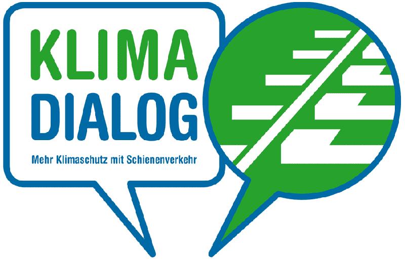Klima Dialog: Mehr Klimaschutz mit Schienenverkehr