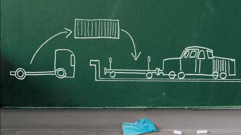 """Verkehrsverlagerung gestrichen: In der """"Neuauflage Nachhaltigkeitsstrategie"""" des Bundes fehlen plötzlich die Marktanteilsziele für die Schiene. Vielleicht, weil die Regierung frühere Ziele verfehlt hat?"""