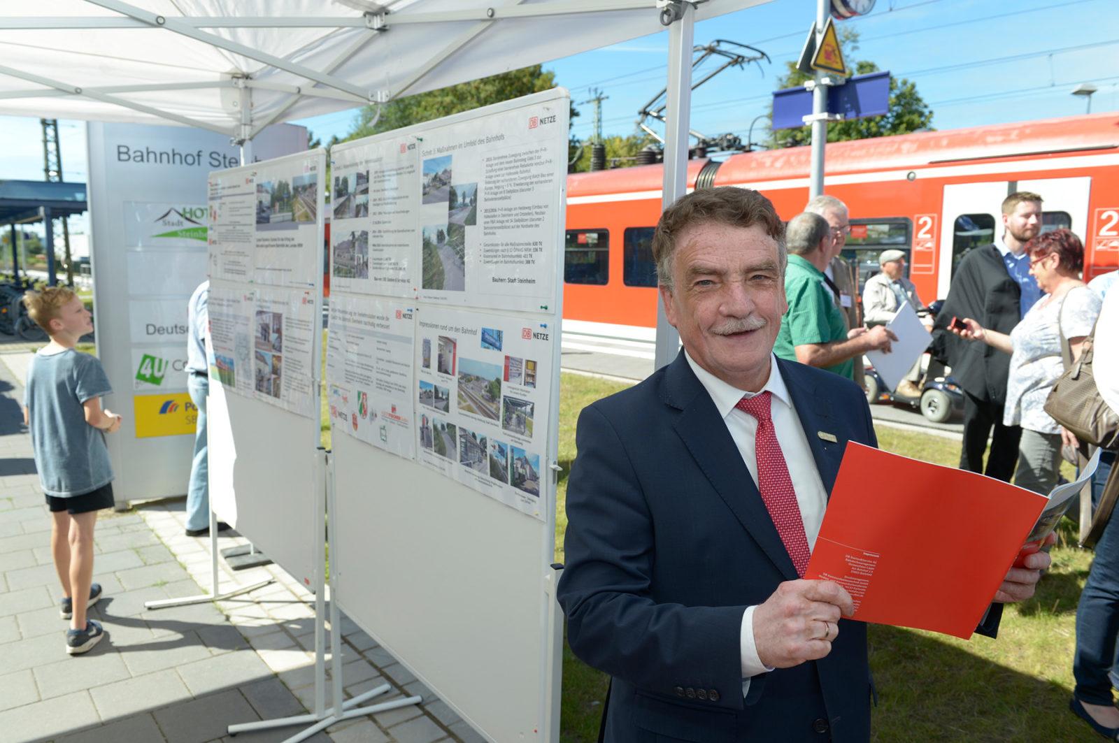 Bahnhof des Jahres 2016: Feier in Steinheim (Westfalen)