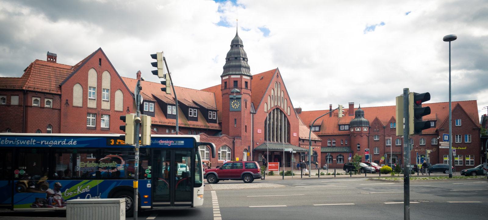 Bahnhof des Jahres 2016 - Stralsund