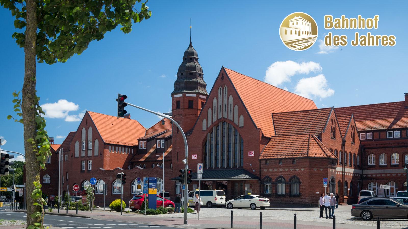 Der Bahnhof des Jahres Stralsund