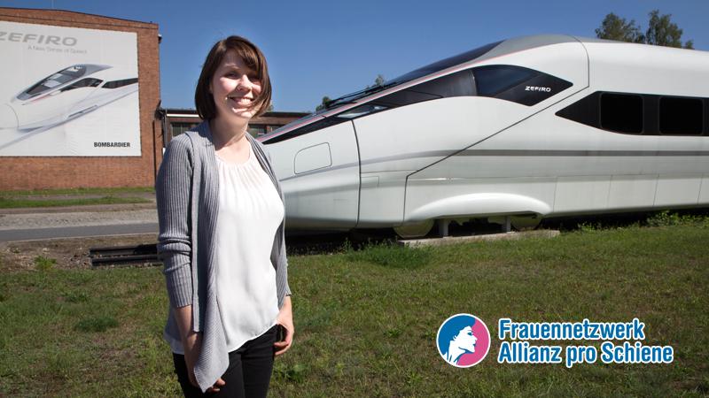 Christina Winter leitet der Bereich Energy Performance bei Bombardier