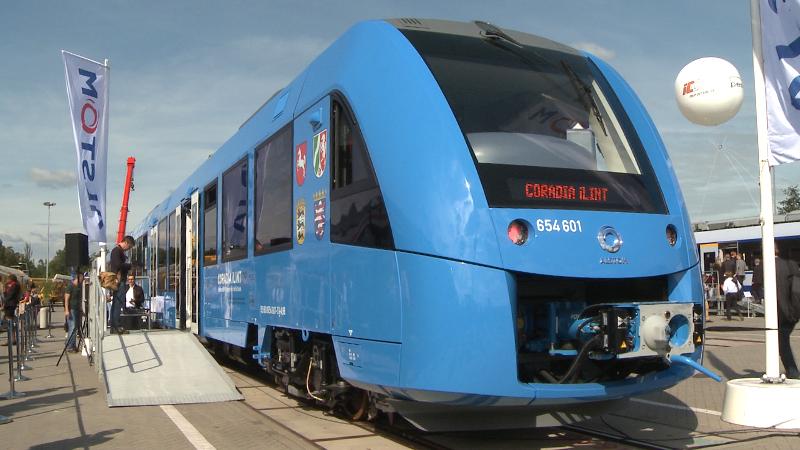 Alstom Coradia ILint Wasserstoff-Zug