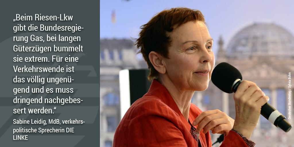 740-Meter-Netz: Sabine Leidig