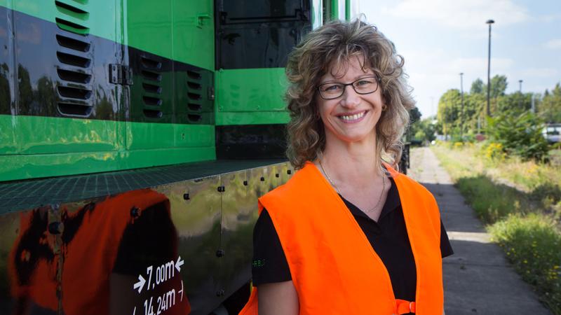 Andrea Bartz, Disponentin bei BUG Verkehrsbau