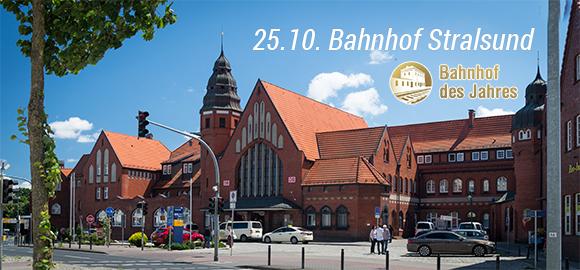 Bahnhof des Jahres 2016, Allianz pro Schiene; Stralsund