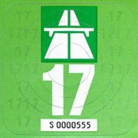 Eurovignetten-Richtlinie / Wegekostenrichtlinie: Eine schweizer Autobahn-Vignette